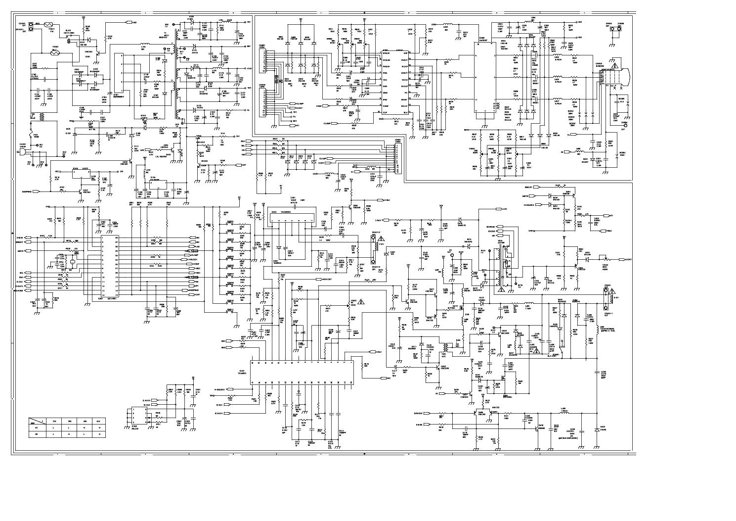 HANSOL-E14BL-401A service manual (1st page)