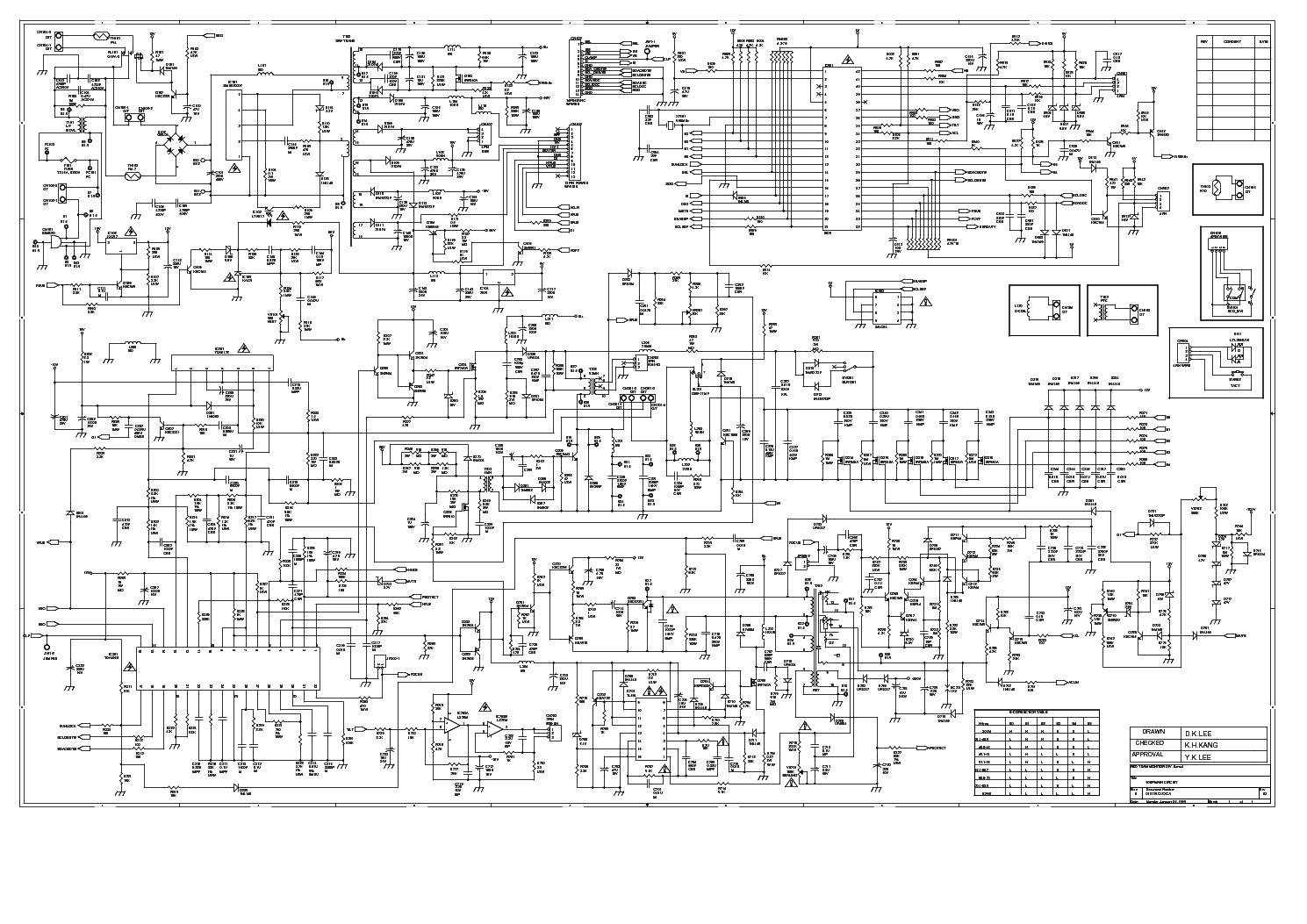 HANSOL MAZELLAN 900P MODEL B19AL service manual (1st page)