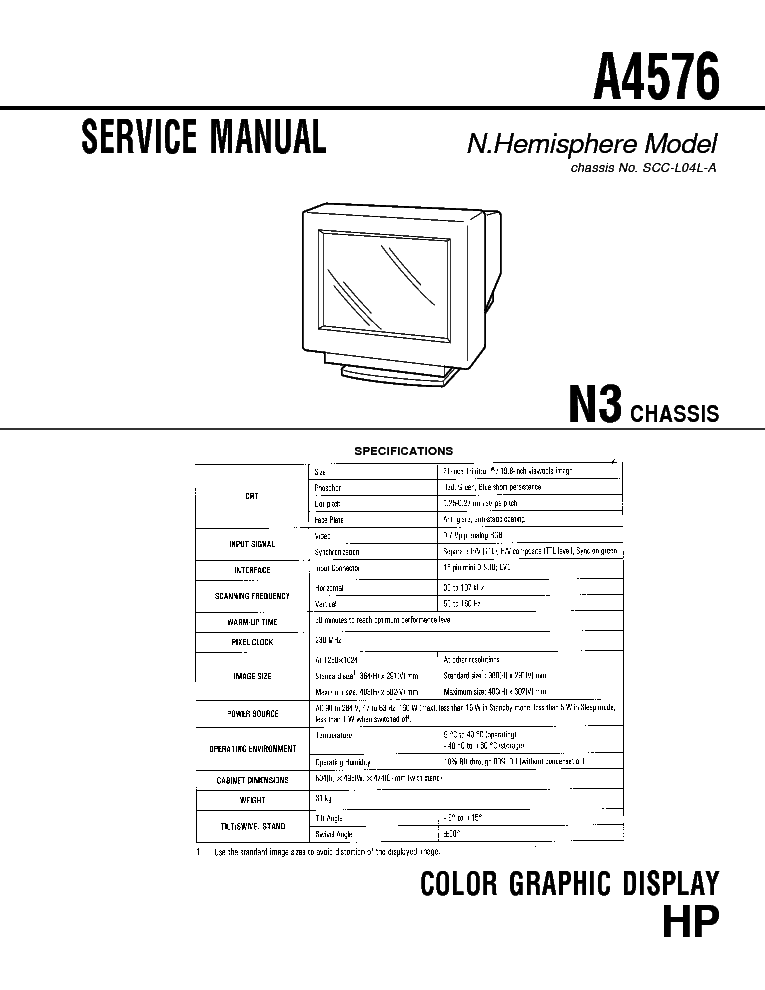 hp l1940t gm5321 a00 sm service manual free download  schematics  eeprom  repair info for