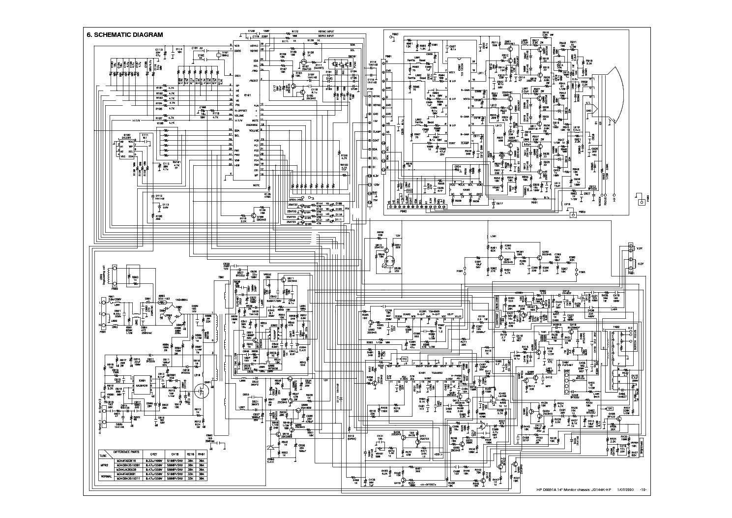Hp D8891a