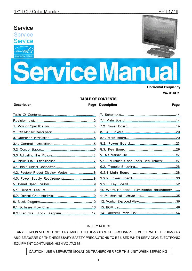 hp w1907 manual daily instruction manual guides u2022 rh testingwordpress co HP W1907 Accessries hp w1907 service manual