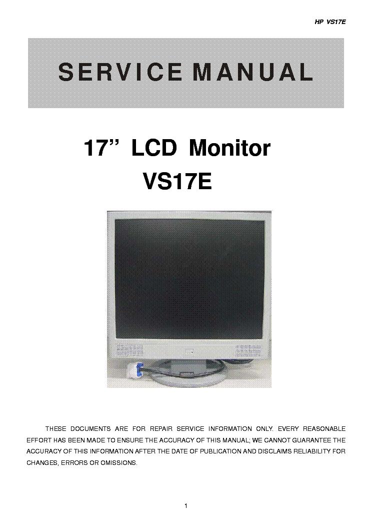 Hp vs17e monitor