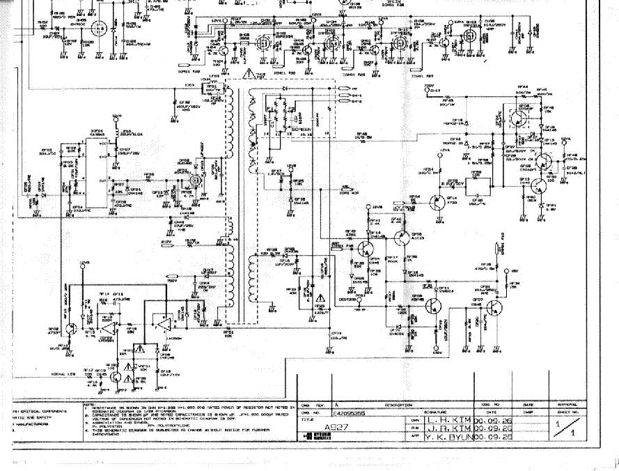 Hyundai A927 Pjia927 C1907 Sch Service Manual Download
