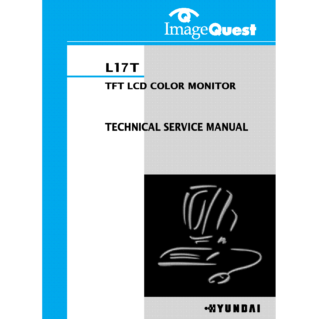 Hyundai L17t Lcd Monitor Service Manual Download