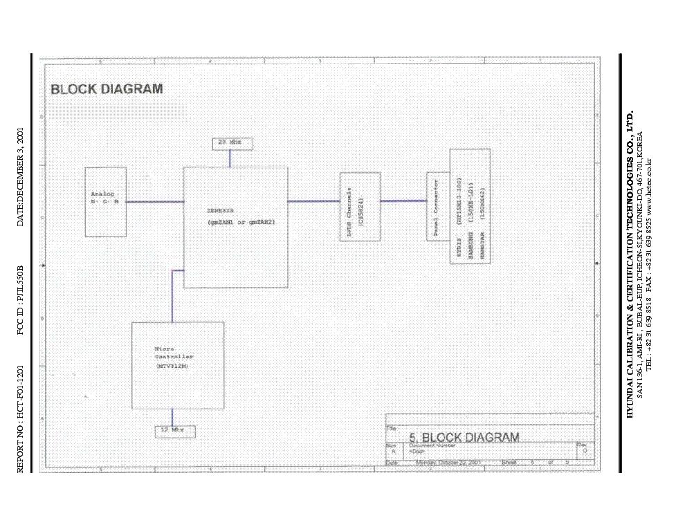 Hyundai L550b Service Manual Download  Schematics  Eeprom