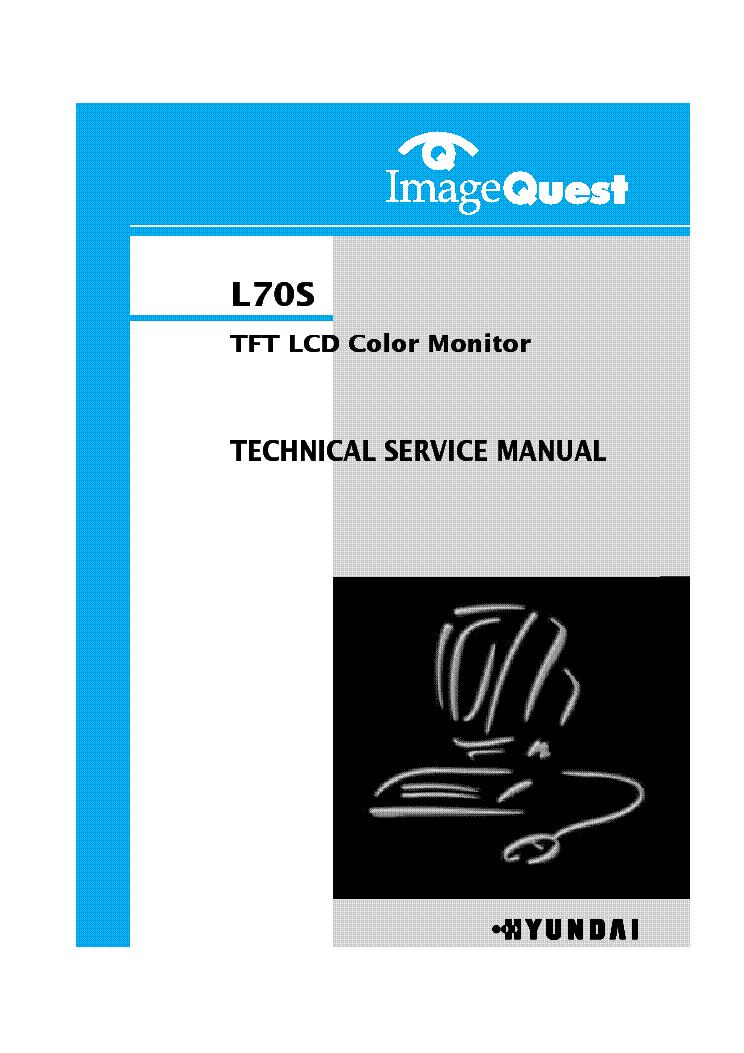 Hyundai L70s Service Manual Download  Schematics  Eeprom