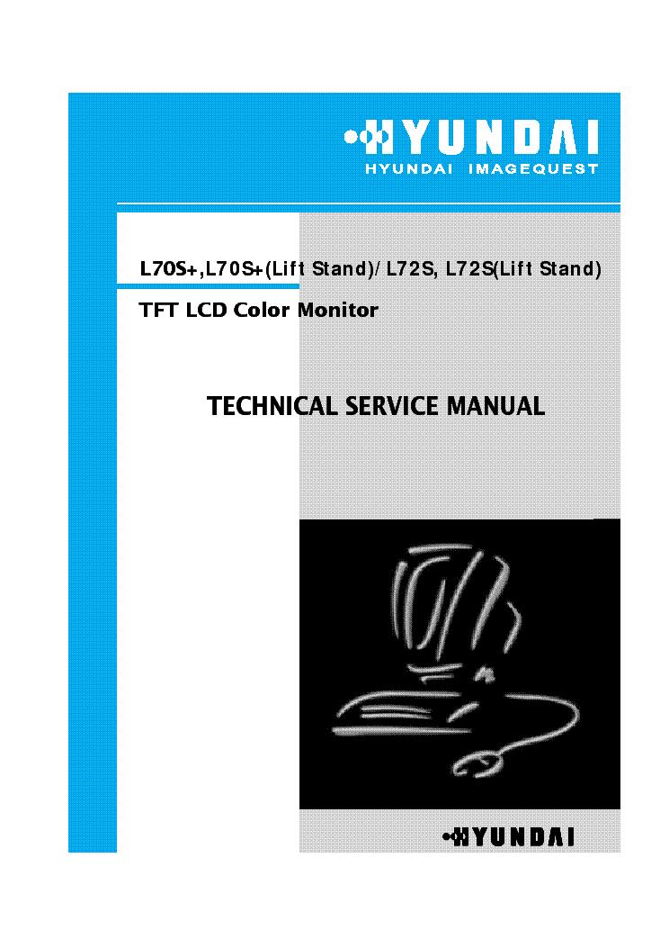 Hyundai l72s Manual