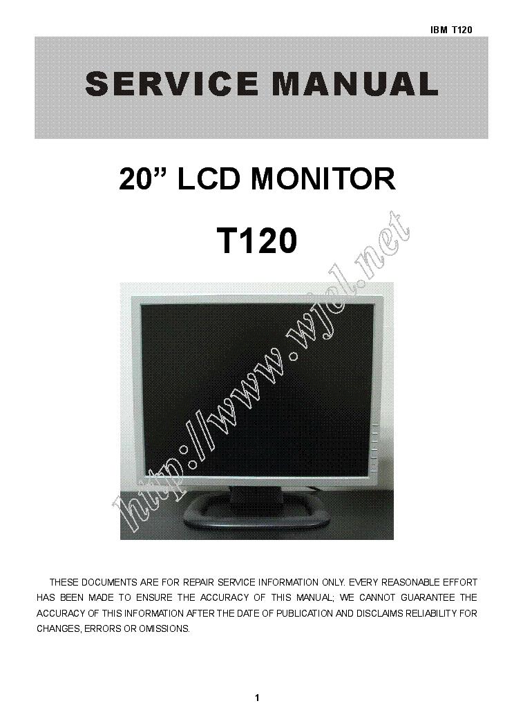 ibm 3196 001 service manual download schematics eeprom repair rh elektrotanya com IBM Monitor Parts IBM Touch Screen Monitors