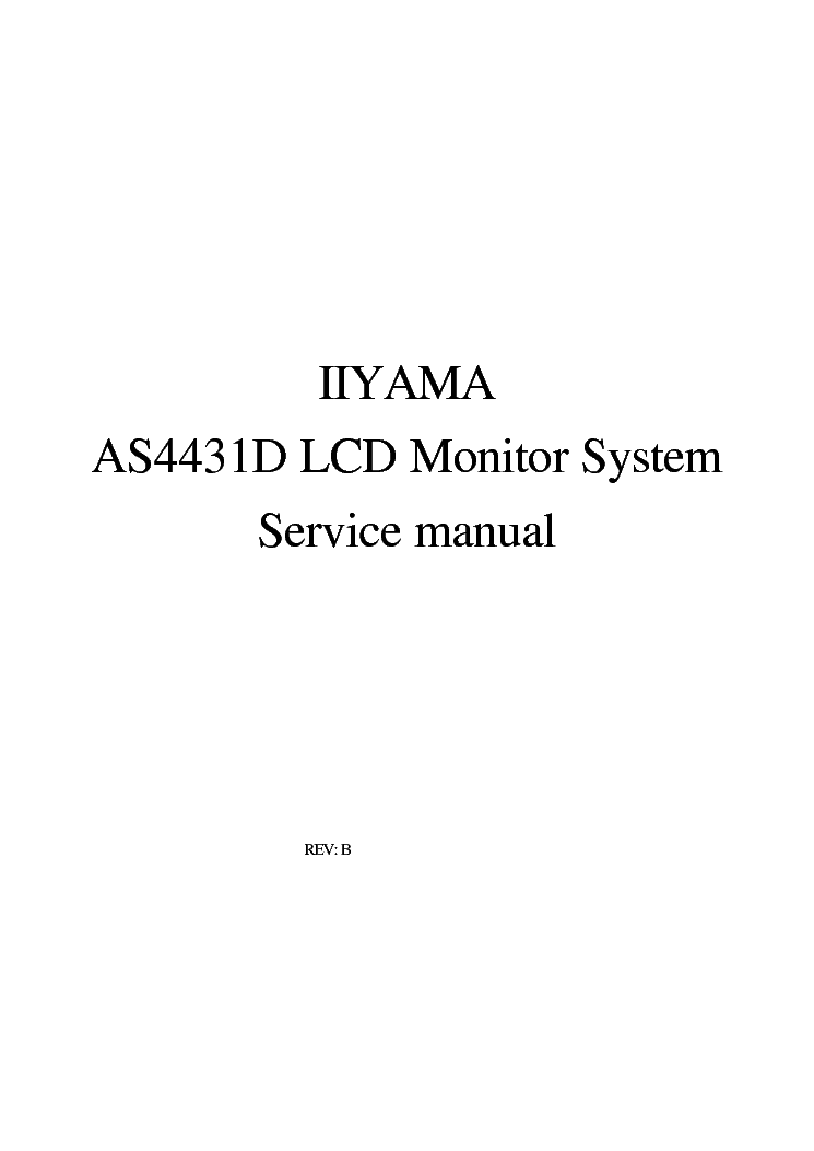 IIYAMA AS4431D DRIVER FOR MAC