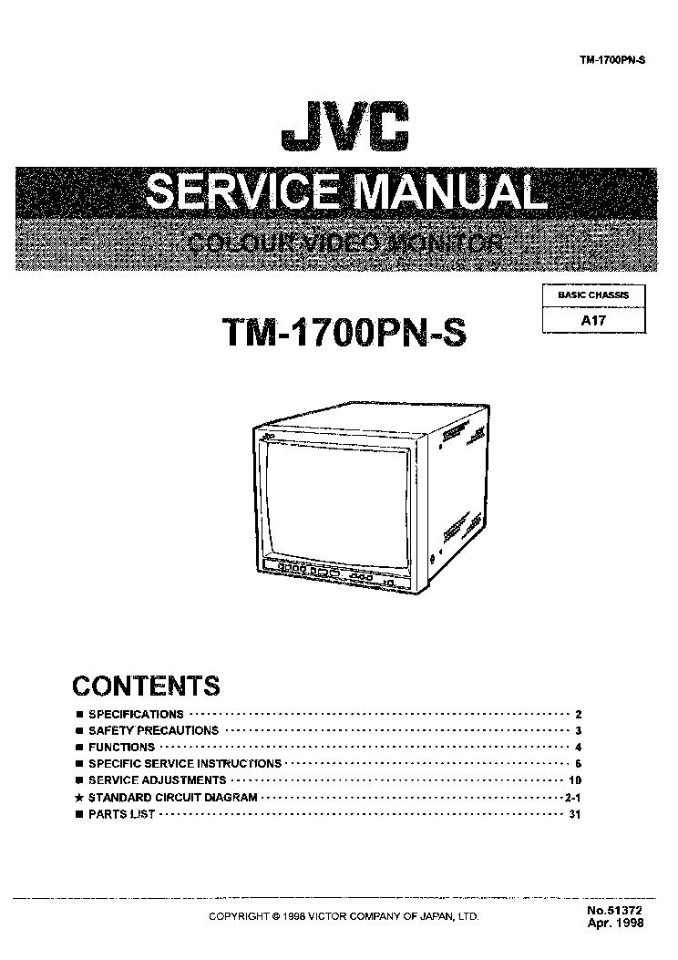Download free pdf for jvc lt-32em49 tv manual.