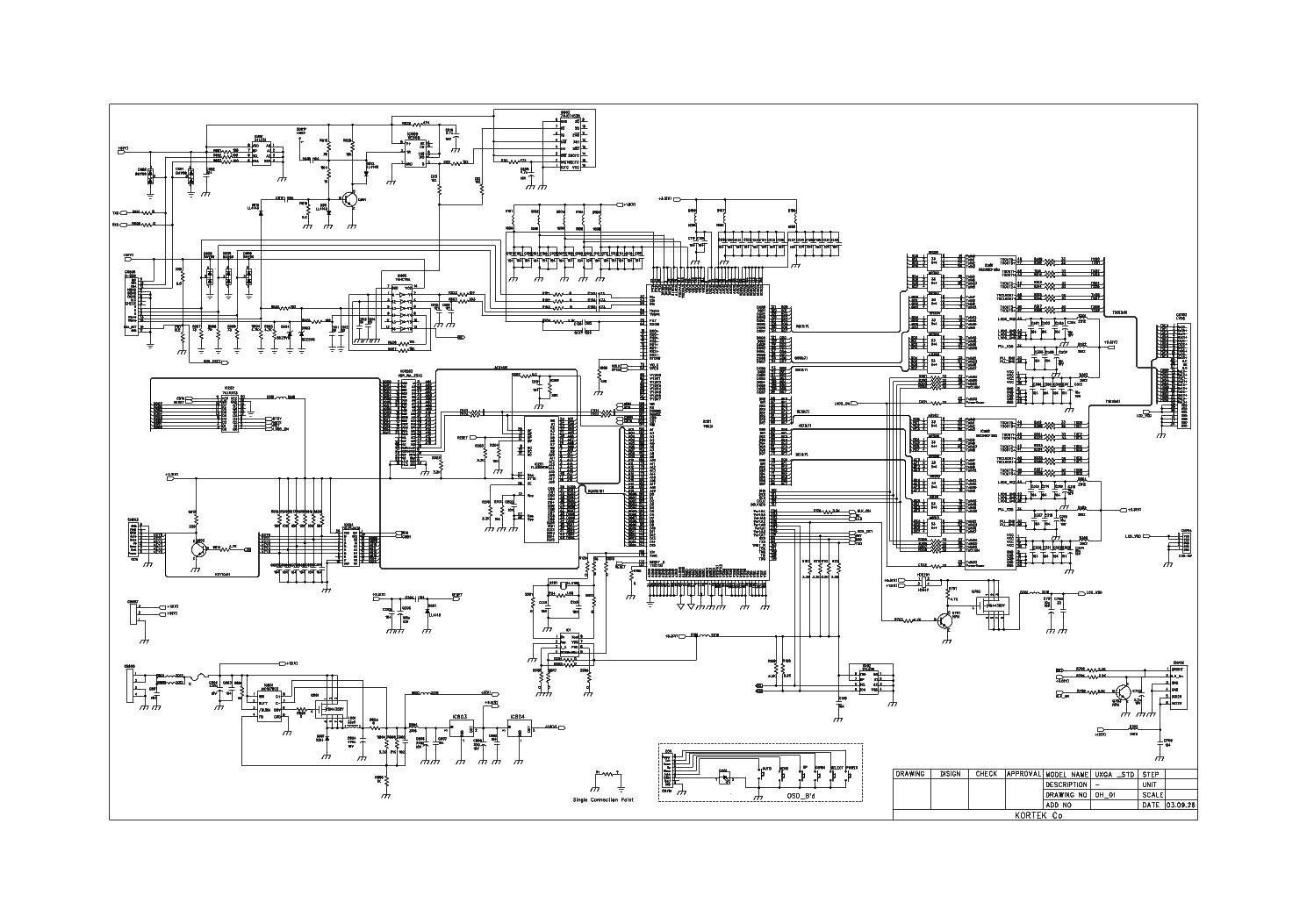 Kortek Ktl190s Service Manual Download  Schematics  Eeprom