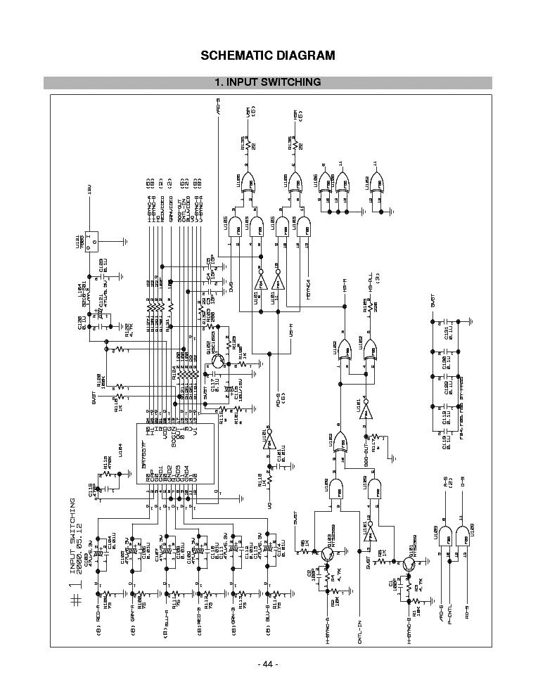 lg flatron w1941s sm service manual download  schematics