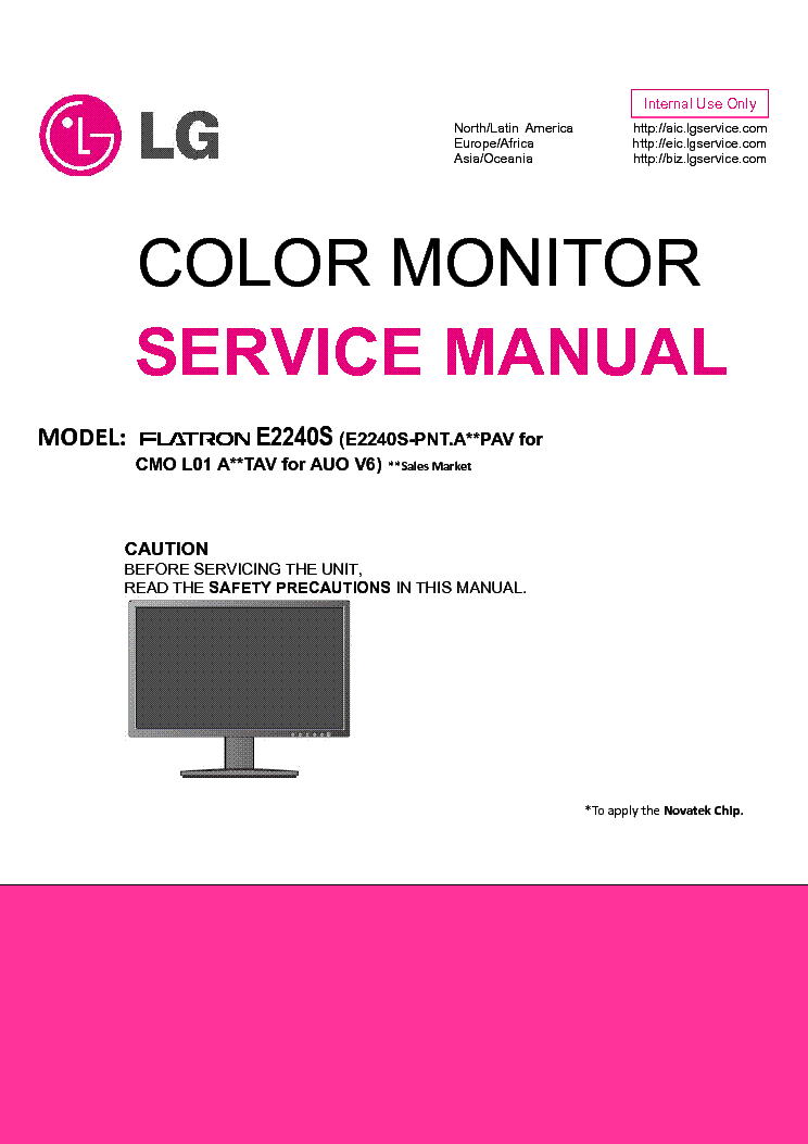 lg e2240s pnt service manual download schematics eeprom repair rh elektrotanya com lg flatron w2353v manual lg flatron monitor manual