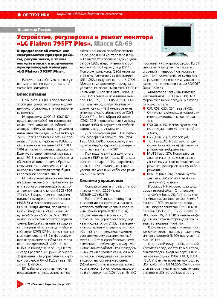 фев 2004 Название: LG Flatron