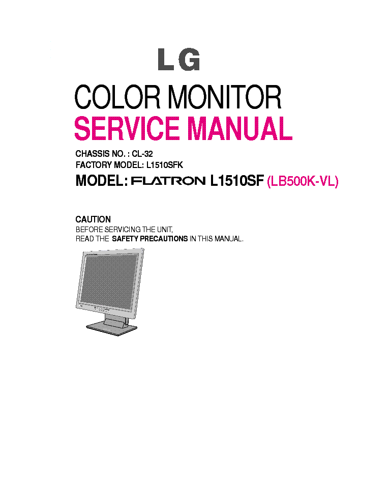 LG FLATRON L1510SF WINDOWS 8 DRIVER DOWNLOAD
