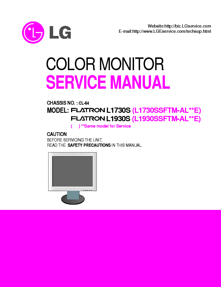 Review Monitor LCD LG FLATRON L1752S
