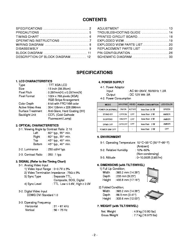 Lg Li561n Ibm T560 3828tso018k Service Manual Download  Schematics  Eeprom  Repair Info For