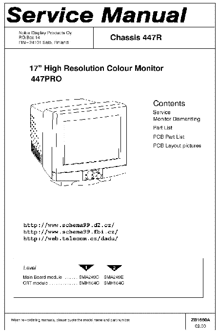 Nokia 447 Pro Service Manual Download  Schematics  Eeprom