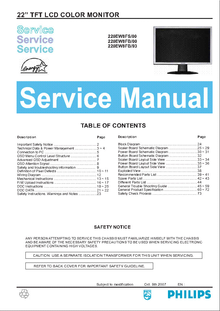 Lcd Monitor Repair Guide Pdf