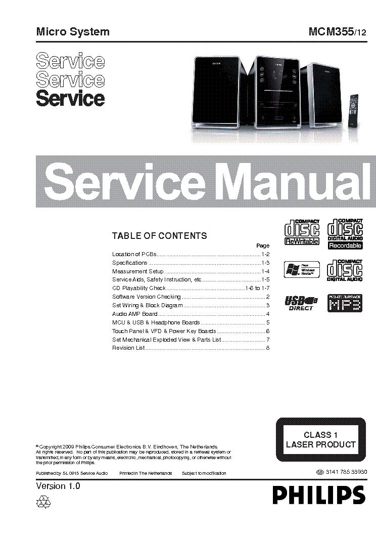 PHILIPS MCM355 12
