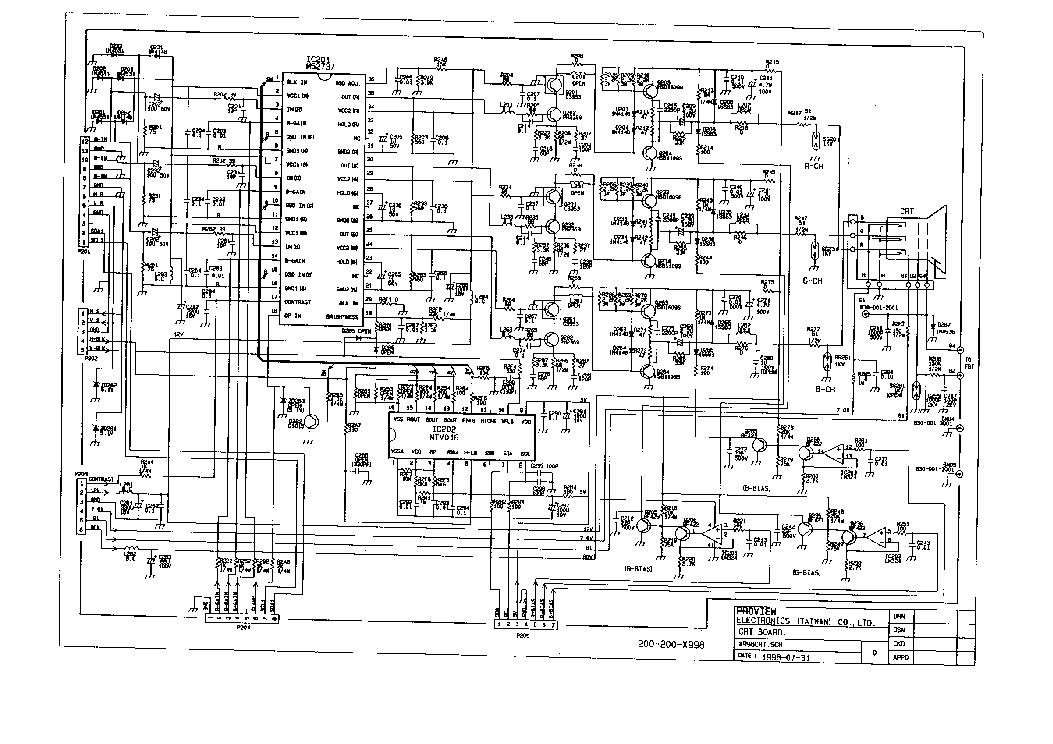 Miraculous Crt Monitor Pcb Diagram Wiring Diagram Wiring 101 Cranwise Assnl