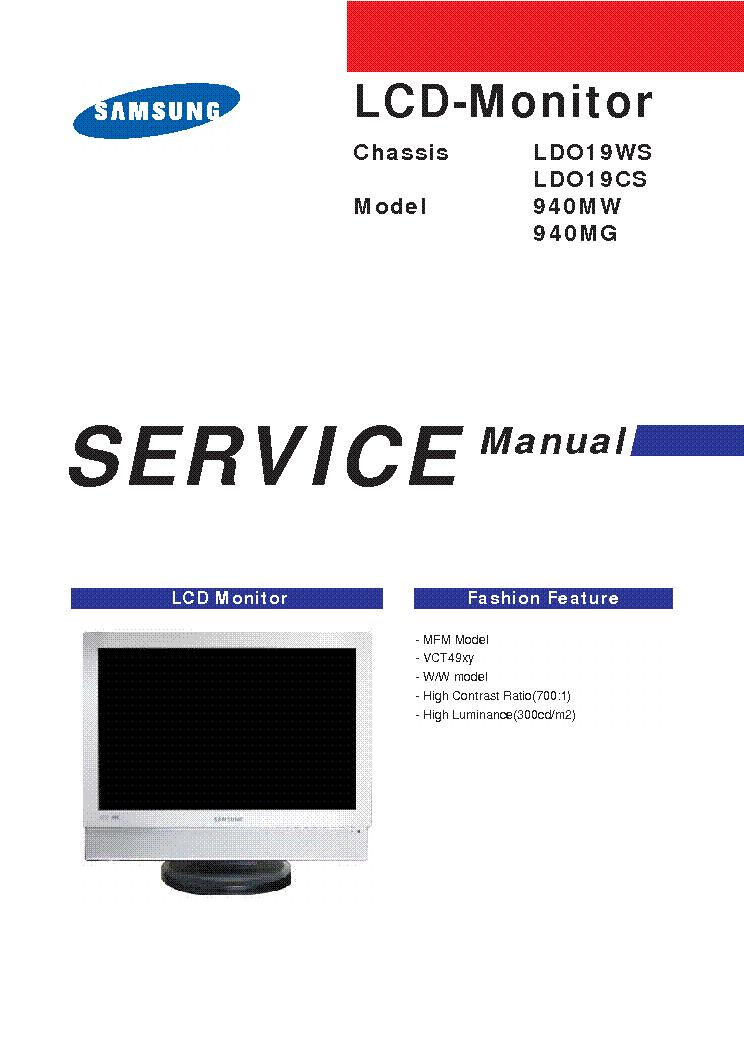 samsung 940mw 940mg service manual download schematics eeprom rh elektrotanya com Samsung Service Manual Parts Samsung Parts Manual