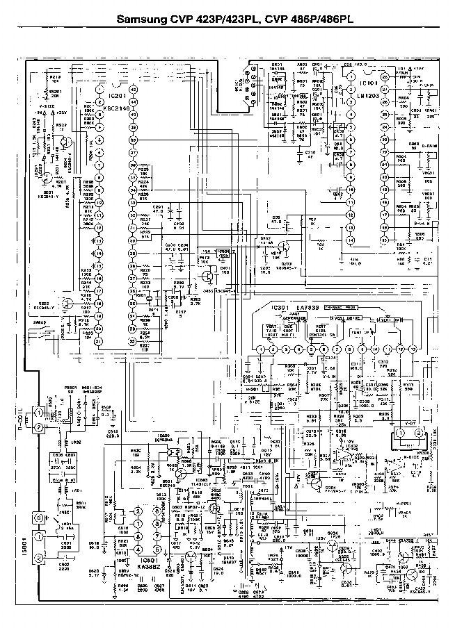 SAMSUNG CVP-432,486 SM SAMSUNG