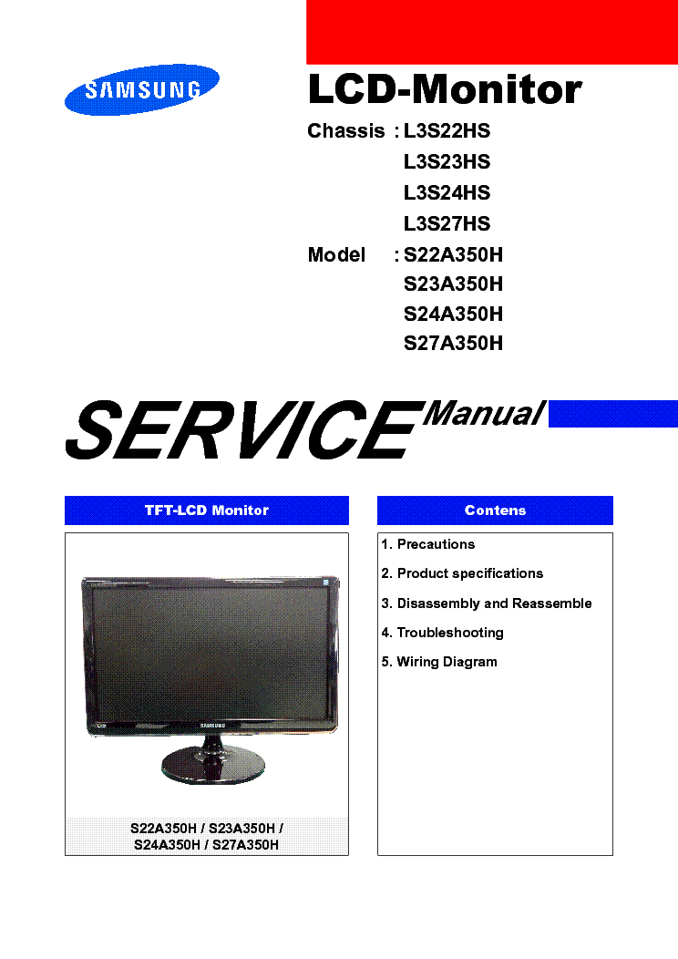 Samsung S27A350H LED Monitor Windows 8 X64 Driver Download