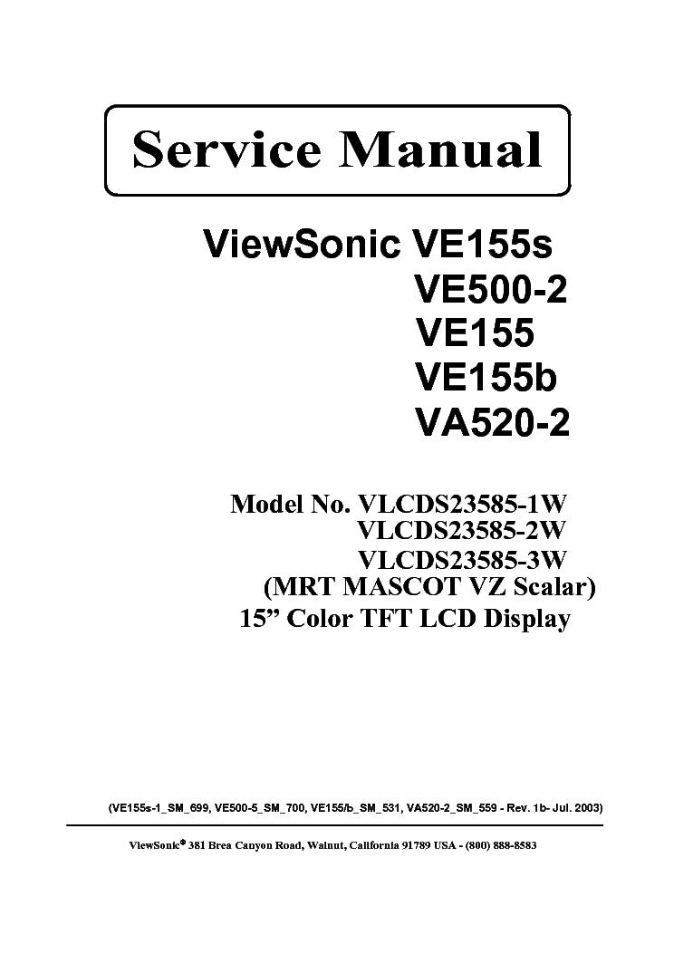 Viewsonic ve500
