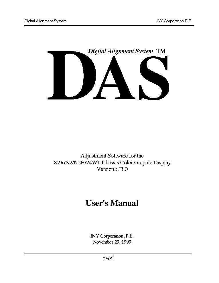 Sony Das User Manuals Service Manual Download  Schematics