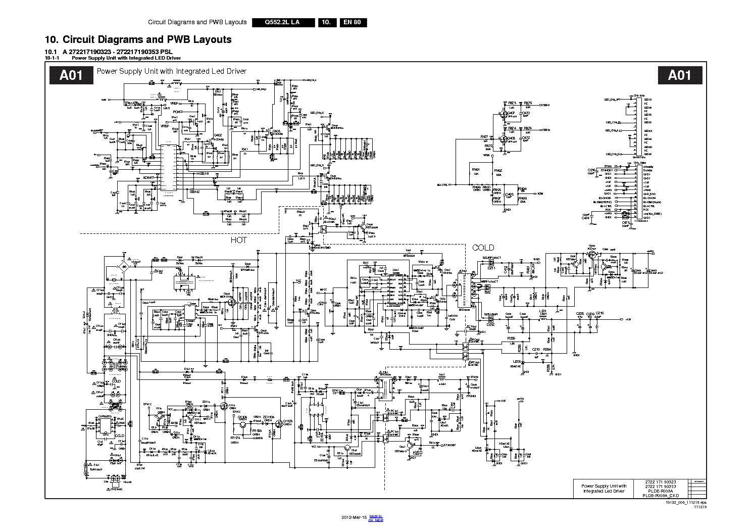 sharp power supply schematic wiring diagram power supply