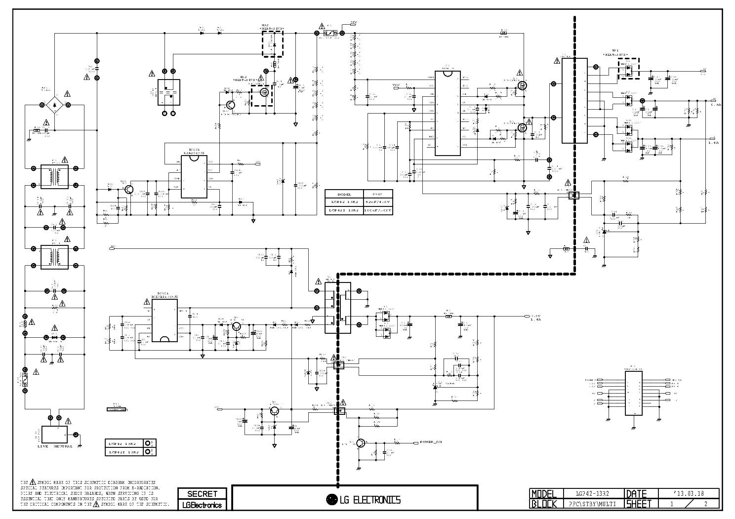 Схема проходного выключателя с 3