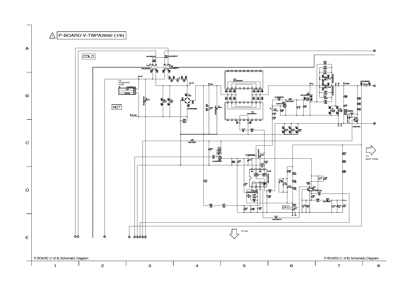 Panasonic Tnpa3570ab Sch Service Manual Download  Schematics  Eeprom  Repair Info For