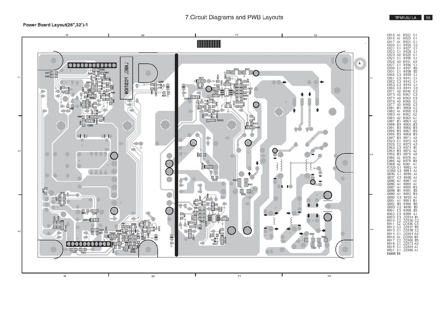 PHILIPS 715T2190-1 TPM1 0ULA PSU Service Manual download, schematics