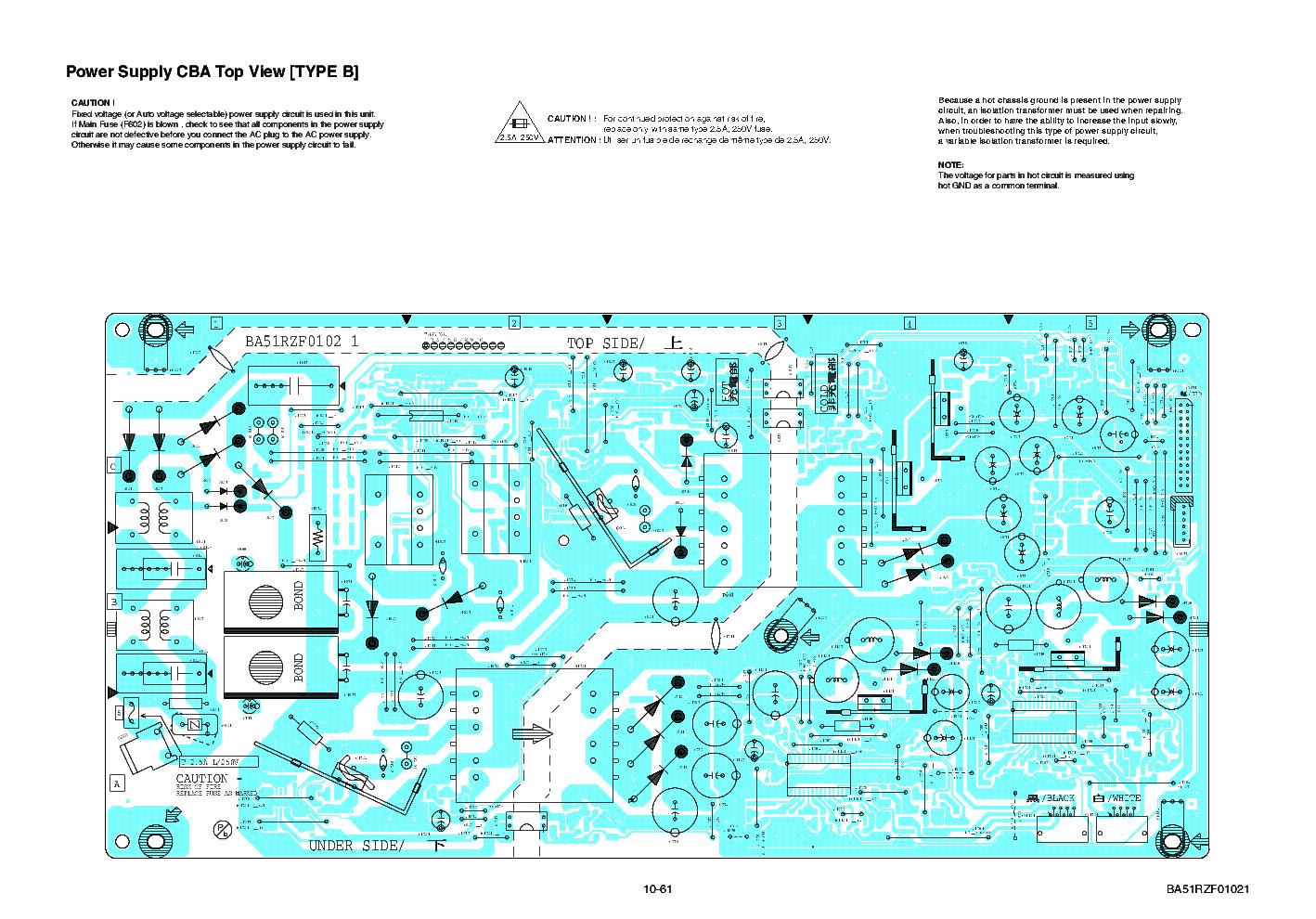 Philips Ba51rzf0102 1 Psu Sch Service Manual Download Schematics Isolation Transformer Schematic Diagram 1st Page