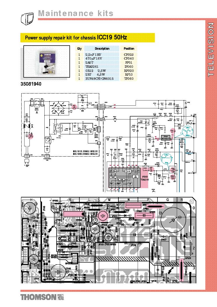 thomson chassis icc19 50hz service manual download schematics rh elektrotanya com Parts Manual Parts Manual