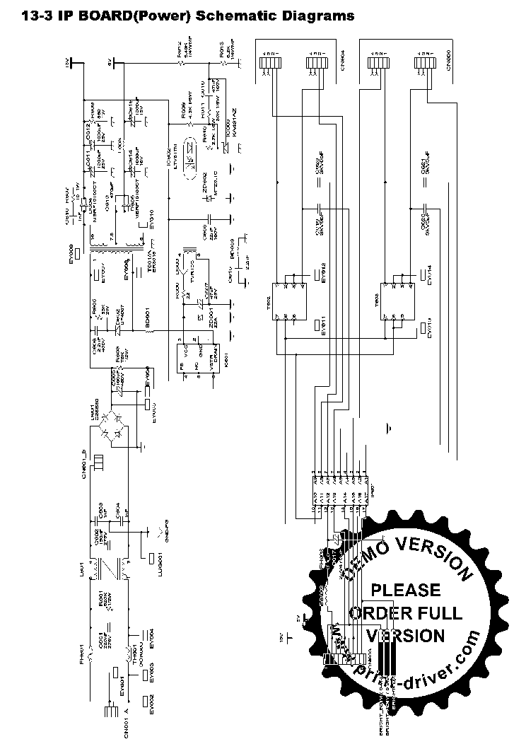 samsung lcd wiring schematic samsung bn44-00113a power supply sch service manual ... #1