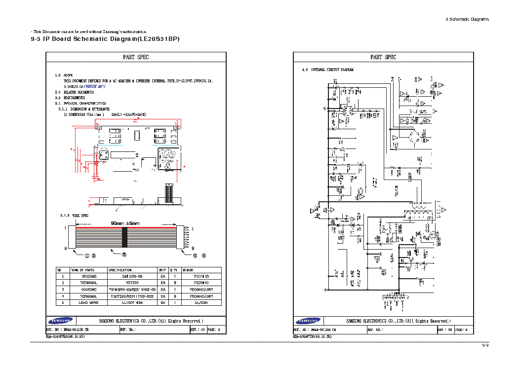 Samsung Bn44 00115b Inverter Power Sch Service Manual