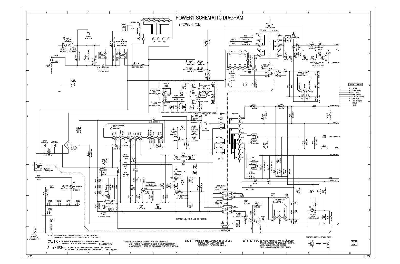sharp lc32sh20u power schematic sch service manual free download  schematics  eeprom  repair