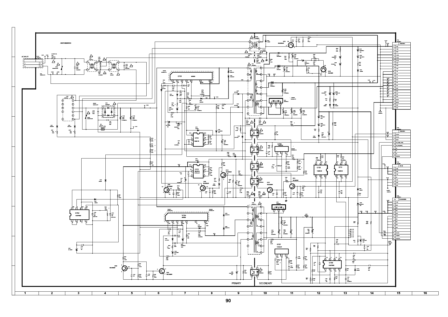 sharp duntkd605we03 qpwbsd605wjn3 sch service manual download  schematics  eeprom  repair info