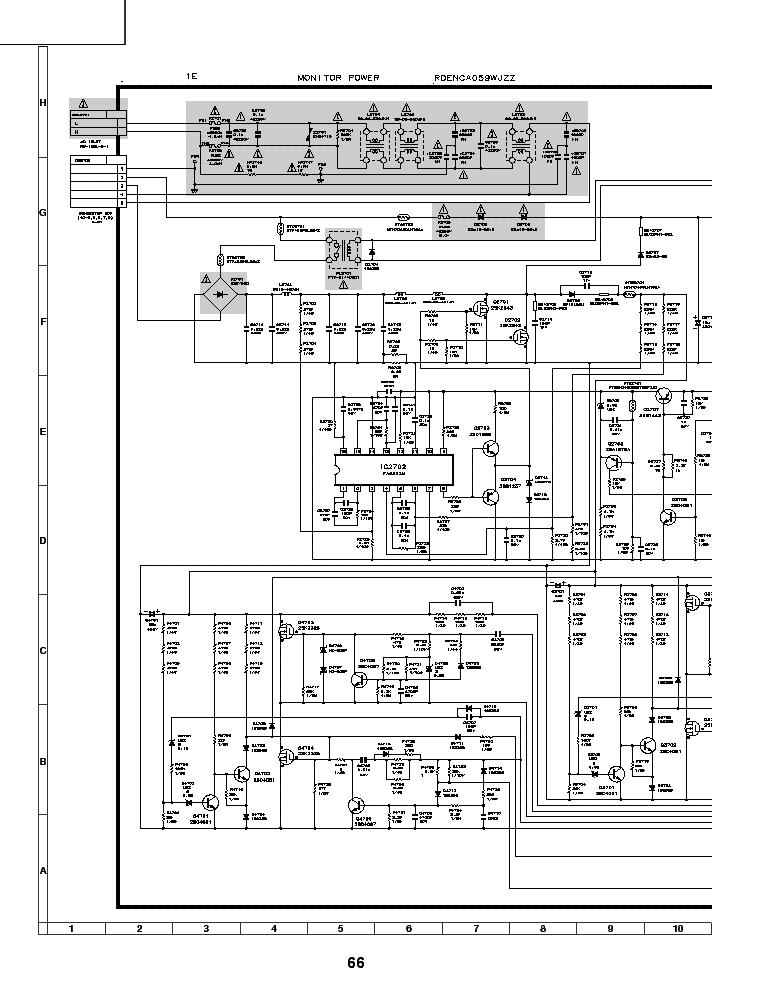 Sharp 9jda3y101e240 Ds1107a Lc 32sh20u Pwr Sch Service Manual