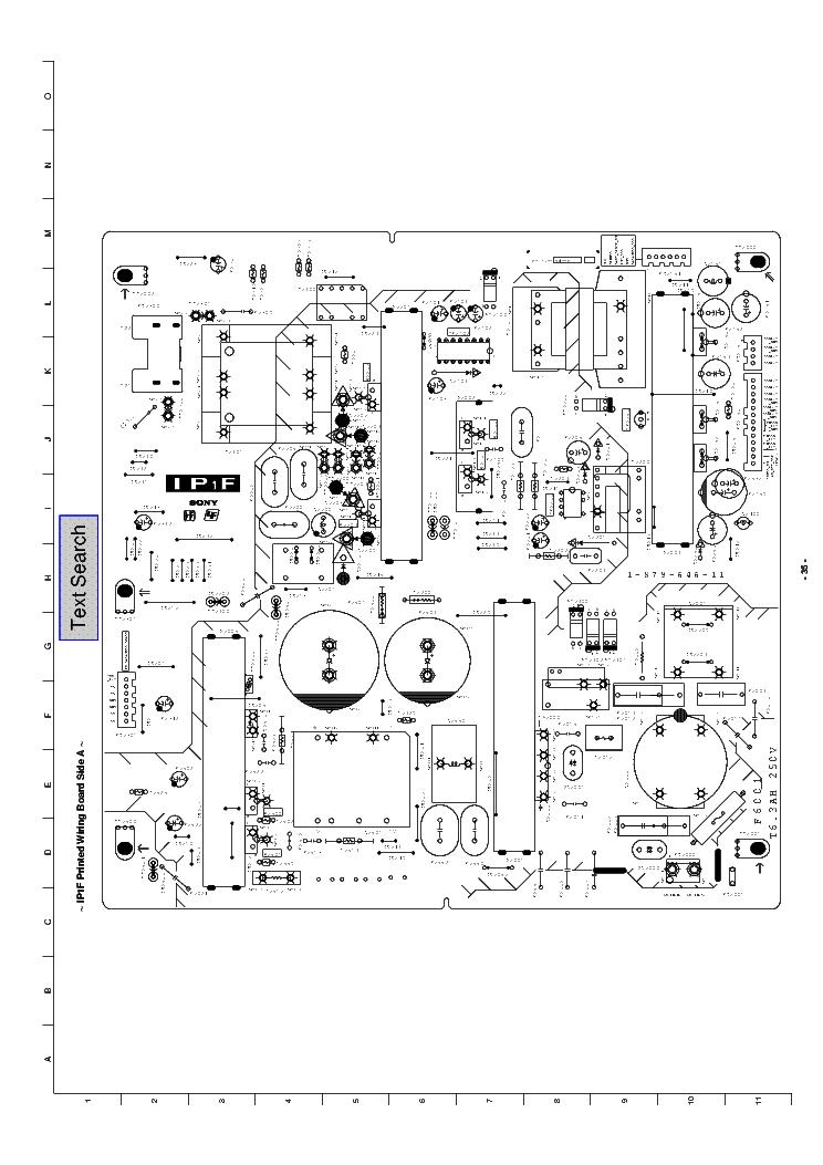 SONY 1-879-646-11 A-1708-948-A IP1F-BOARD PSU Service Manual ...