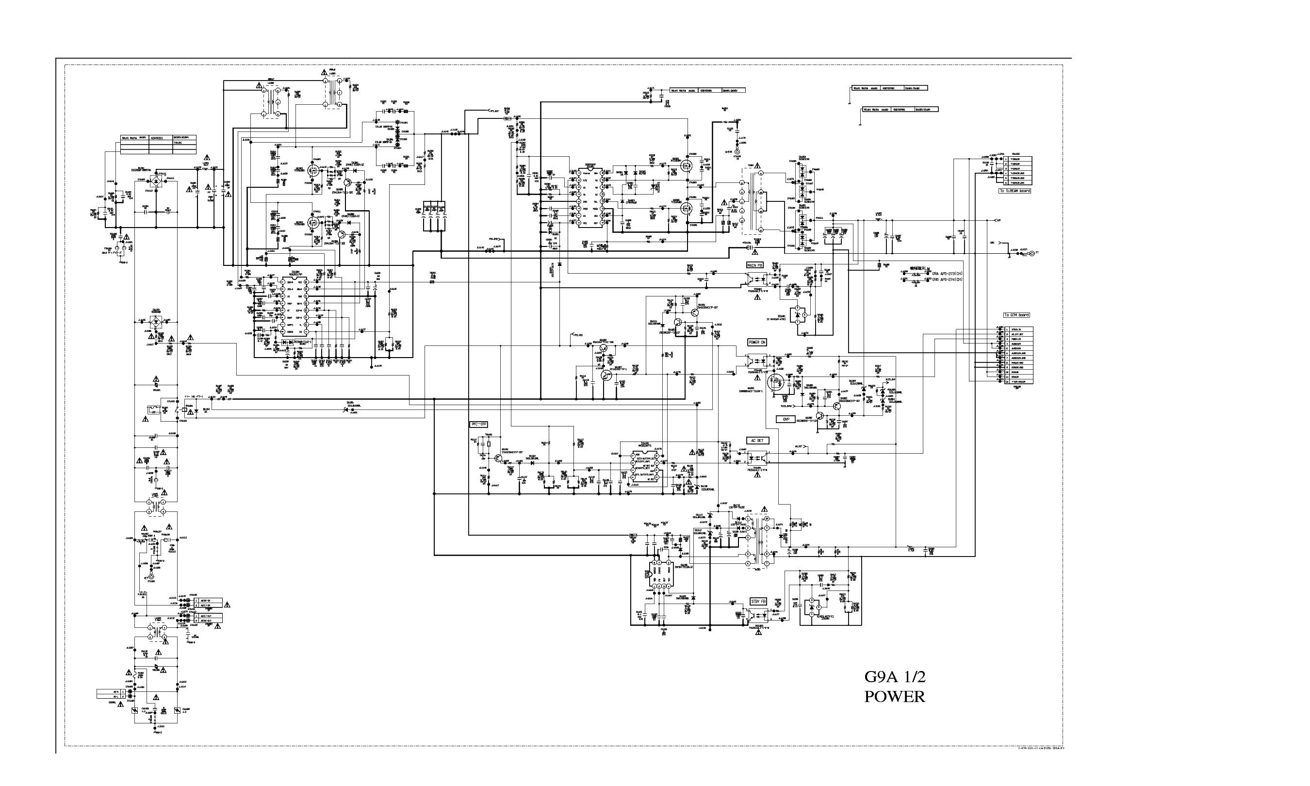 sony g9a mip2h2 mm3313a r2a20117sp cxd9969p sch service manual download  schematics  eeprom