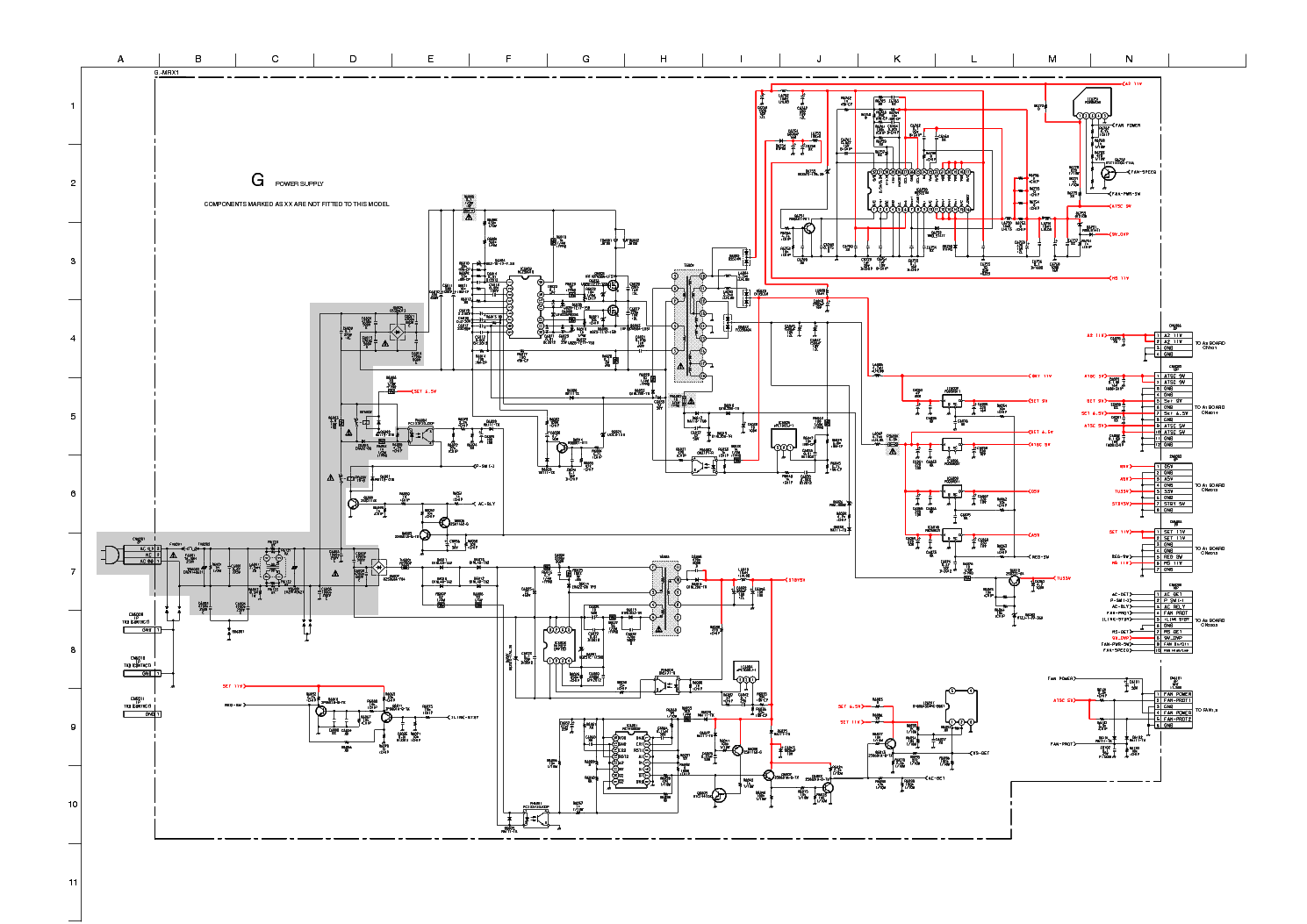 Sony G 1 860 578 12 Md3221 Mc14538b Mip2c2 Mcz3001d Sch