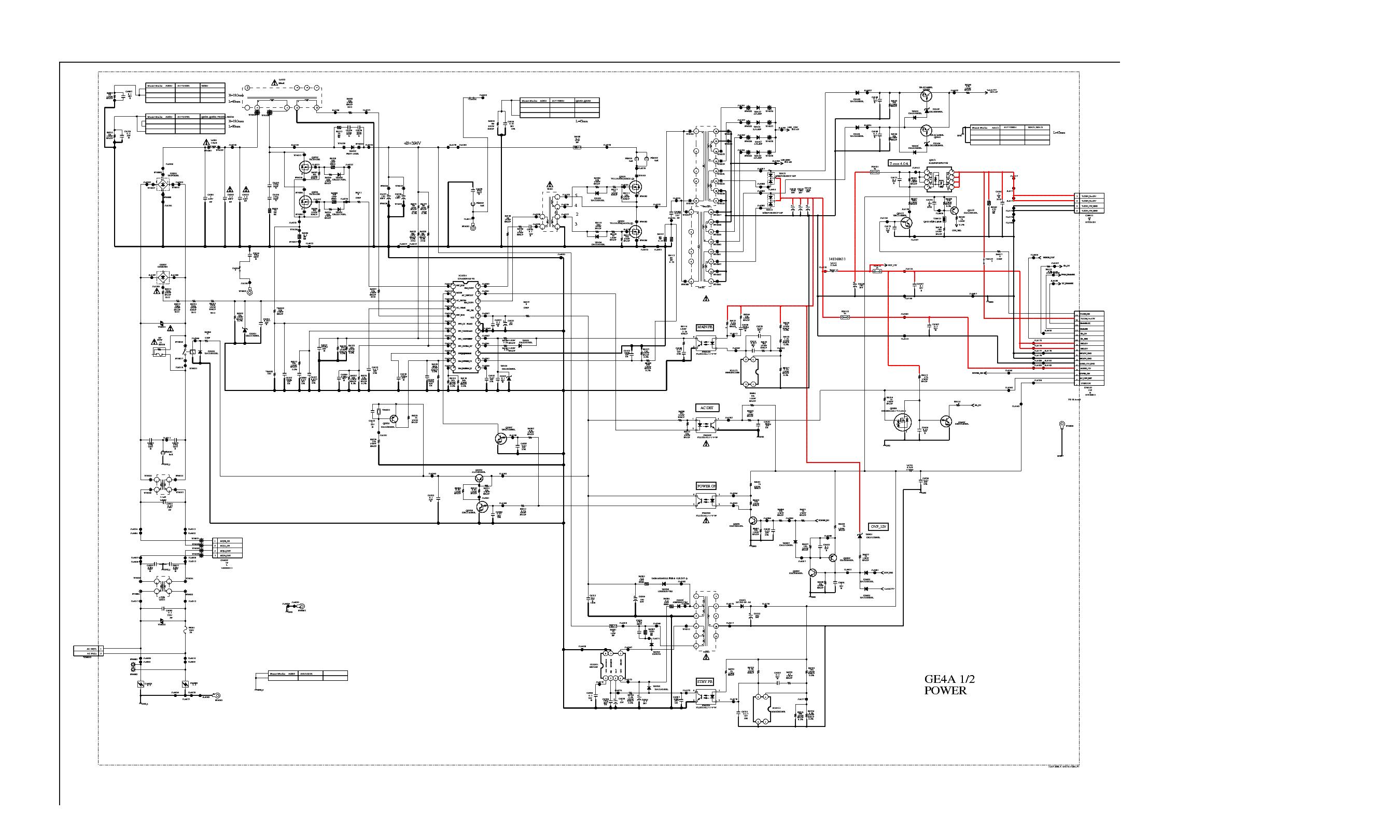 ge appliance schematics sony gf1 1 873 813 13 l6562 cxd9841p mip2h2 sch service  sony gf1 1 873 813 13 l6562 cxd9841p mip2h2 sch service