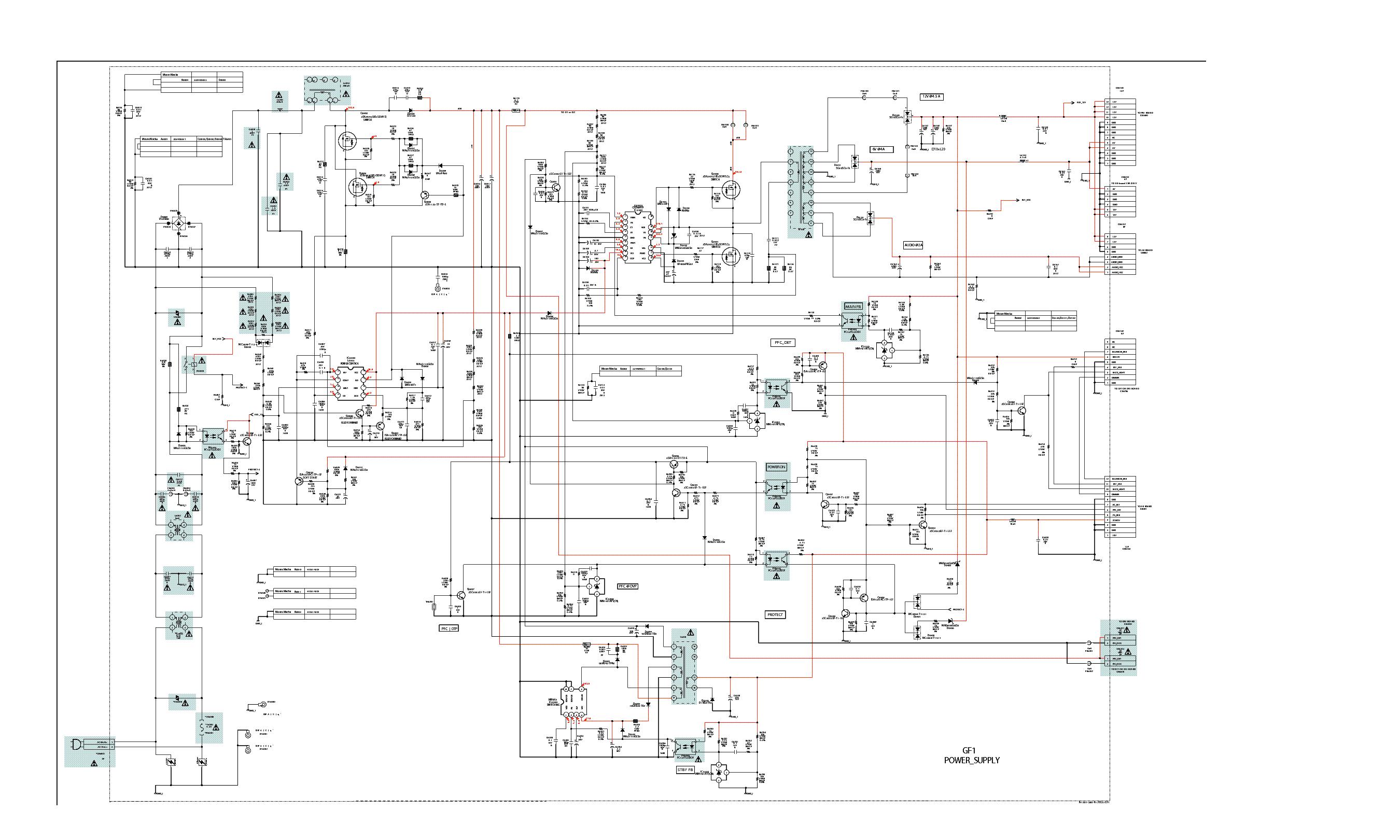 Филипс 29pt9111 58 схема принципиальная