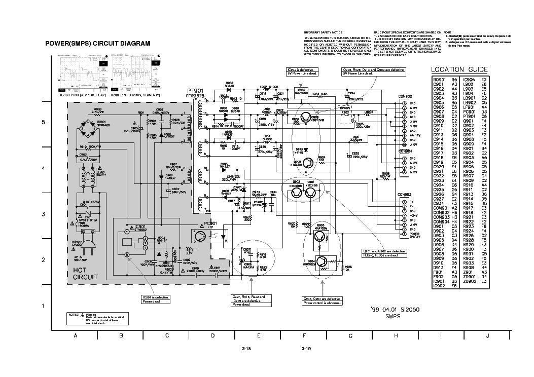 LG-DVD2300 POWER SCHEMATIC SCH Service Manual download, schematics ...