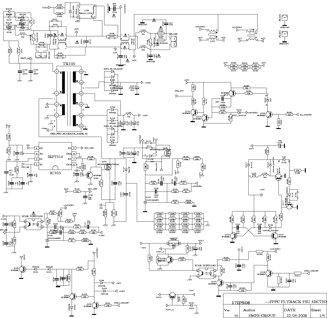17pw26 4 Circuit Diagram Wiring Data With Labeled Motherboard On Parallel Board Vestel Service Manual Download Schematics Eeprom Repair Computer