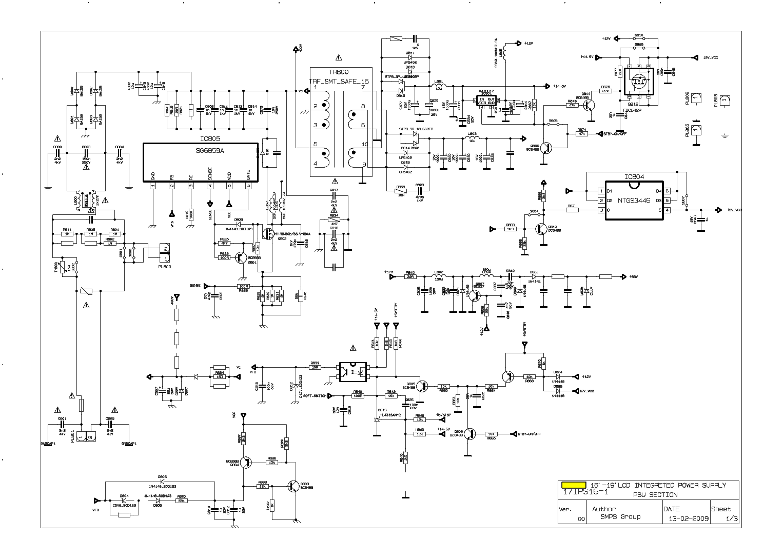 17pw26 4 Circuit Diagram Wiring Diagrams Schematics 17pw25 Vestel Service Manual Download Eeprom On Inverter Series