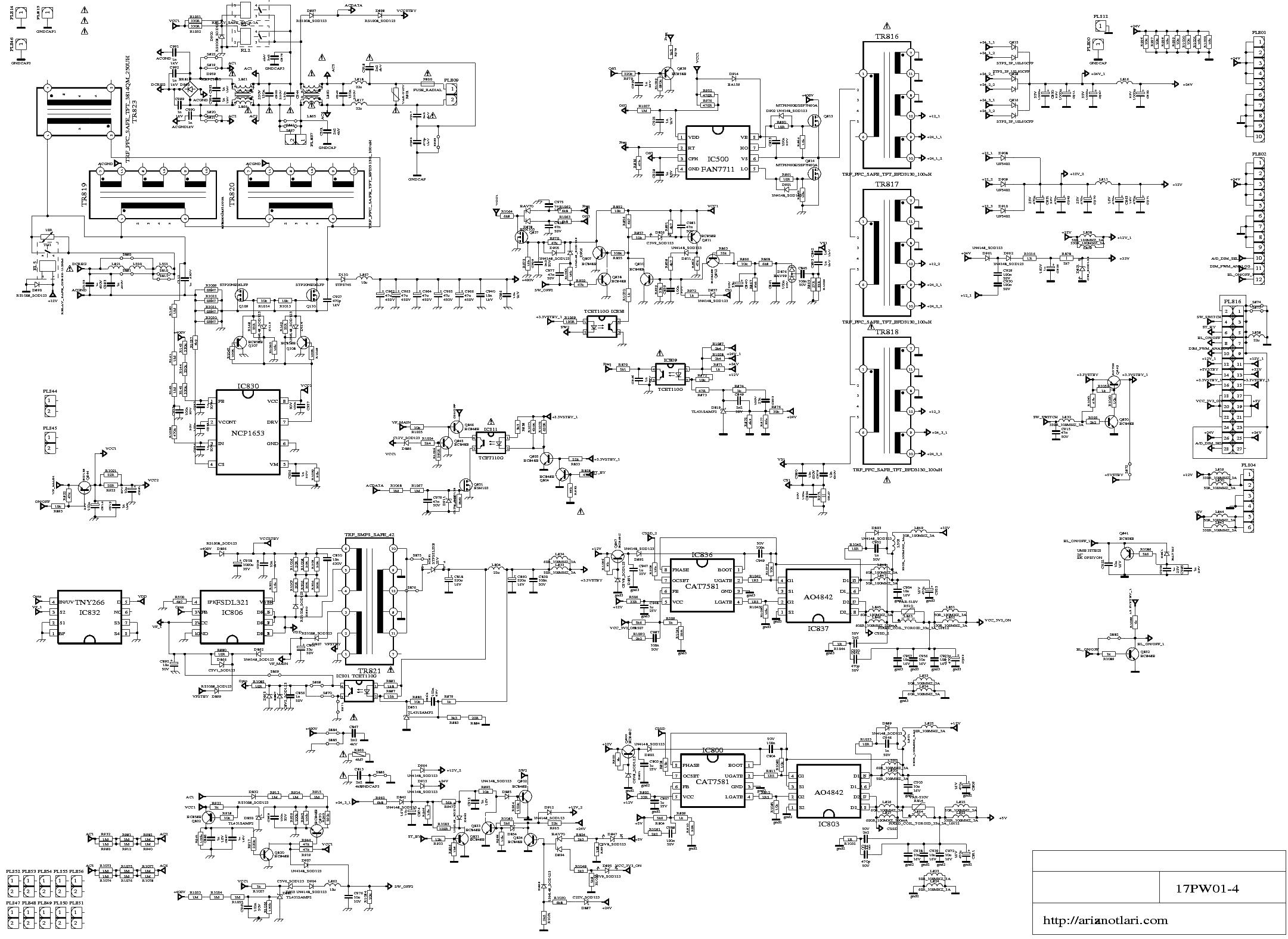 17pw26 4 circuit diagram